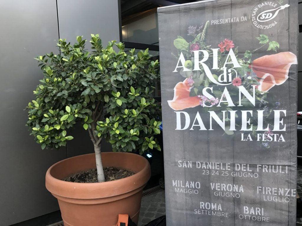#AriaDiSanDaniele fa tappa a Roma