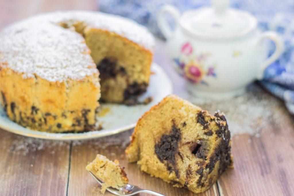 Biscotti Da Credenza Alice : Torta al caffè con cuore morbido alla nutella sinceramente alice