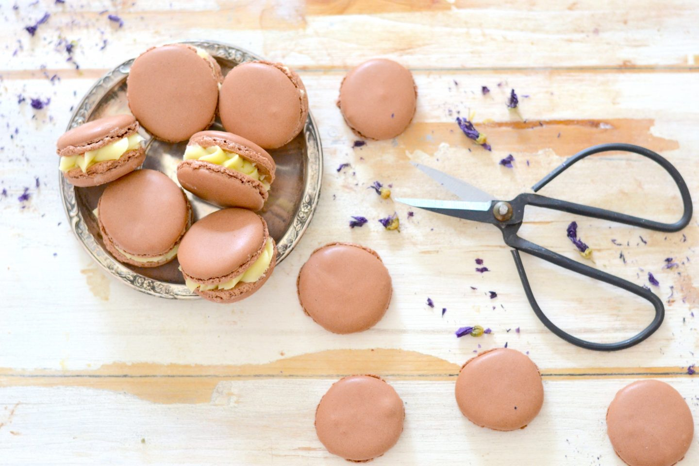 Macarons al cioccolato